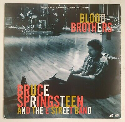 Bruce Springsteen & The E Street Band Blood Brothers Laserdisc USA 1996