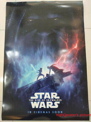 ORIGINAL Star Wars The Rise of Skywalker movie 1sheet DS POSTER double sided int