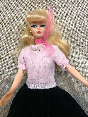 Barbie American Girl Vintage 60s Barbie Selten 1958 Made In Japan Mattel