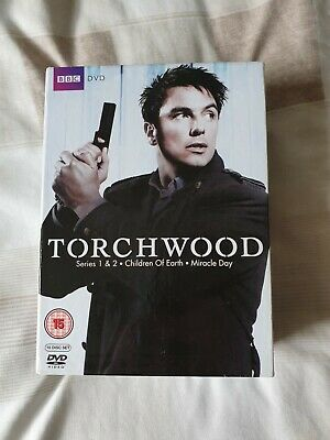 Torchwood complete series collection dvd
