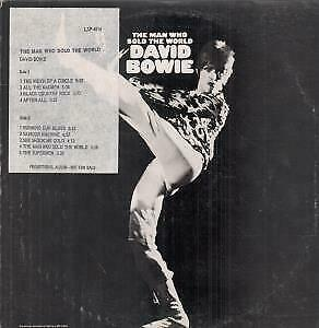 DAVID BOWIE Man Who Sold The World  LP VINYL 9 Track With Inner And Promo/trac
