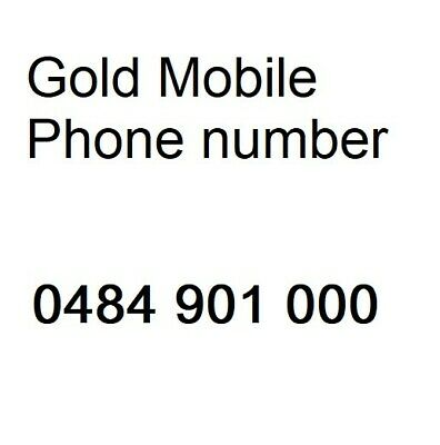 Gold mobile phone number 0484 901 000