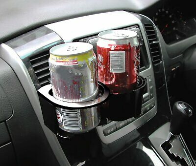 Type S Combo Twin Universal Car Vents Drink Bottle Can Cup Mug Holder Mount