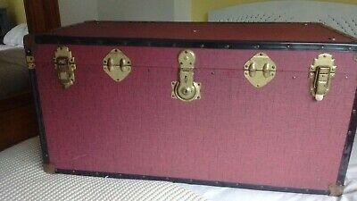 Vintage storage trunk chest