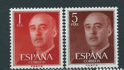 ESPAÑA 1960 General Franco Edifil 1290/1291 **