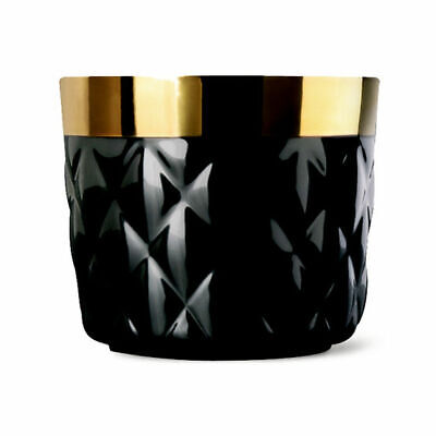 "Sieger by Fürstenberg ""Sip of Gold Noir"" Cushion black Becher"