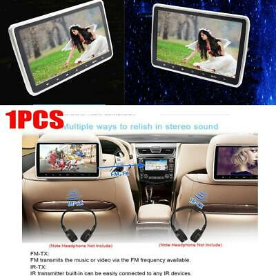 Car Headrest Monitor DVD Player MP5 Back Seat Multimedia Entertainment System