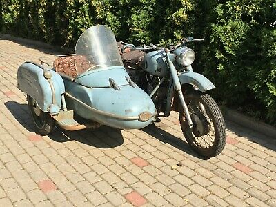SOLD!!! Izh jupiter with sidecar 2 stroke 350ccm 1964 motorcycle  SOLD SOLD!!!