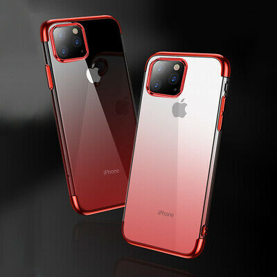 For iPhone 11 Pro Max 11 Pro Ultra Slim Soft Clear Plating Case Protective Cover