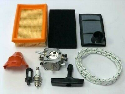 Service Kit Fits STIHL TS400 Carburetor Air Filters Filter Hose Plug And Cover