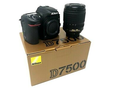 Nikon D7500 DSLR Camera with 18-105mm UK NEXT DAY DELIVERY