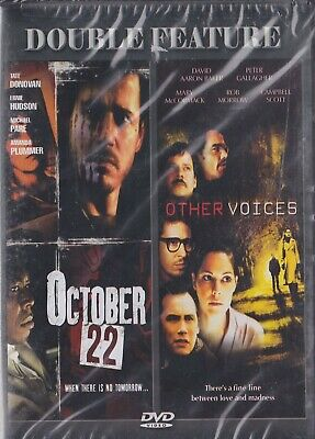 OCTOBER 22 / OTHER VOICES (New DVD) DOUBLE FEATURE