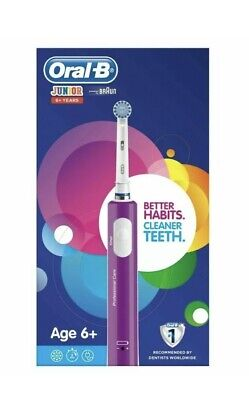 Oral-B Junior / Teen Electric Rechargeable Toothbrush In Purple