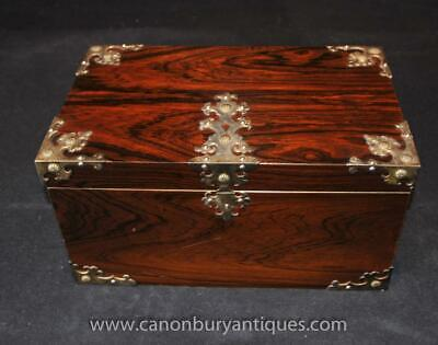 Rosewood Chess Set Box and Board Howell James of London Games