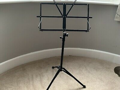 Music Stand with Bag - Black