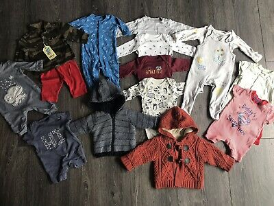 0-3 months boys bundle Next, M&S, Mothercare, Nutmeg, H&M, George Etc
