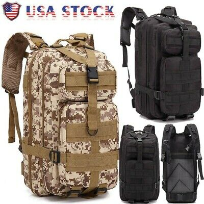Outdoor Rucksack Military Tactical Backpack Assault Amy Hiking Sport Camping Bag