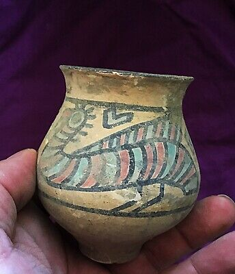 Rare ancient Terracotta Indus Valley pottery Painted Pot c3300-2000 bc