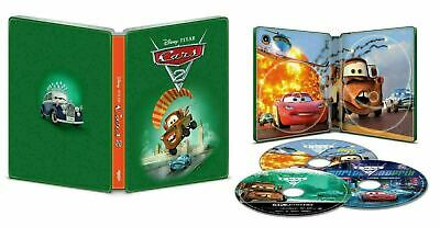 Cars 2 - Limited Edition Steelbook [4K- Blu-ray] New & Sealed!!