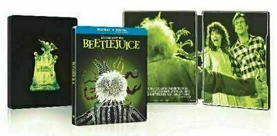 Beetlejuice - Limited Edition Steelbook [Blu-ray] New!