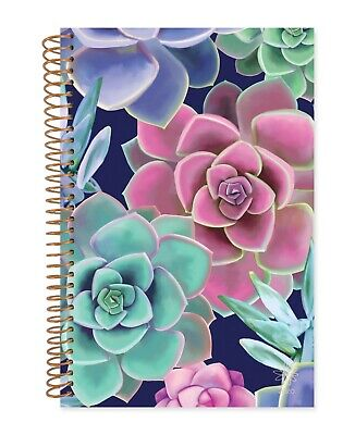 2020 Soft Cover Daily Planner & Calendar, Succulents