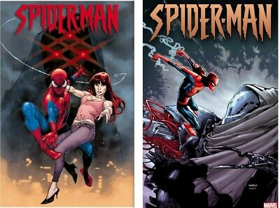 Marvel Spider-Man #1 Olivier Coipel Main & Ramos Party Variant Set 2019 NM 9-18