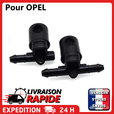 2 Gicleur lave glace buse jet pare brise pour OPEL VAUXHALL ASTRA CORSA INSIGNIA