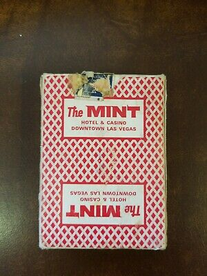 """VINTAGE BEE 92 CLUB SPECIAL FROM """"THE MINT"""" Dell Webb LAS VEGAS RED"""