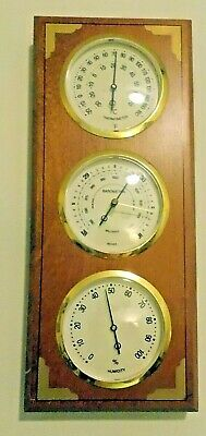 Springfield Instruments Weather Station Thermometer Barometer Humidity Gauge