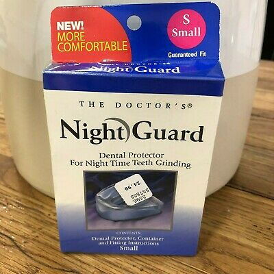 The Doctor's Night Guard Dental Protector For Night Time Teeth Grinding Small