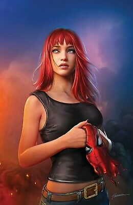 🔥 SPIDER-MAN #1 SHANNON MAER MARY JANE VIRGIN VARIANT AMAZING NM Presale Marvel