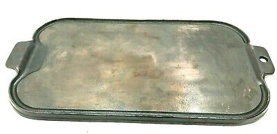 VTG Wagner Ware 17 Inch Double Griddle Grill pan 1891 Cast Iron ~ Very Smooth