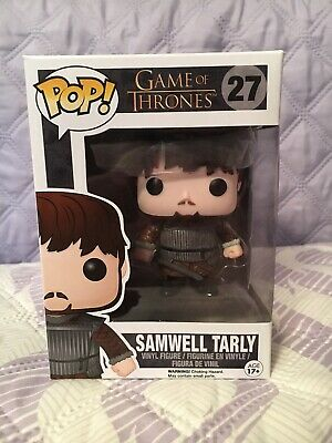 Funko Pop! Samwell Tarly #27 Game Of Thrones VAULTED with soft protector case