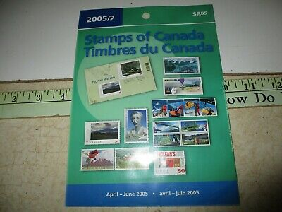 Canada Collectors Stamps Mint Package April-June 2005 unopened 16 Stamps