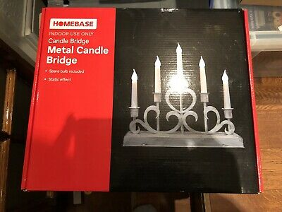 Candle Bridge Christmas Arch Light Indoor Home