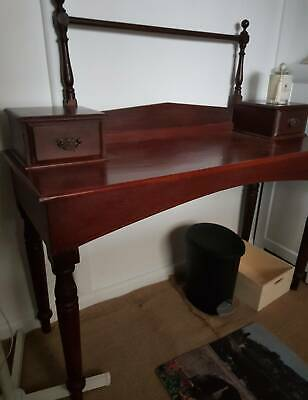 Antique cedar washstand, 2 drawers, good condition,