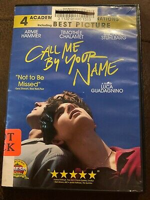 CALL ME BY YOUR NAME USED - GOOD DVD Only.