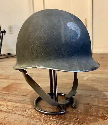 US Military WWII WW2 M1 Helmet With Carpac Liner *SEE DETAILS*