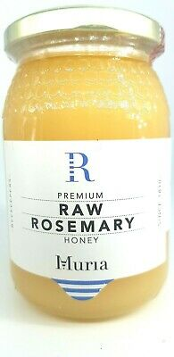 Pure Raw Rosemary Honey (500gr) Natural Creamy Unheated Unpasteurised Delicious