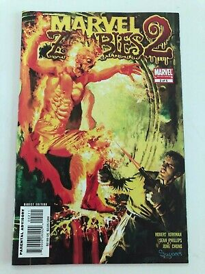 Marvel Zombies Limited Series 2, Issue 2!  Classic Marvel Comics #1 by Suydam