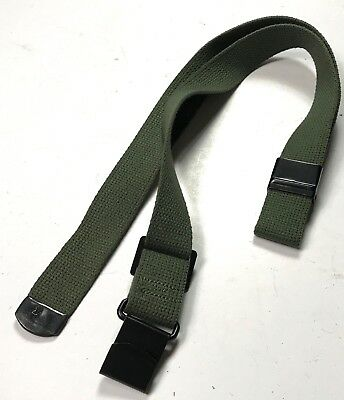 Wwii Us M1 Garand Rifle Canvas Carry Sling-Od#7