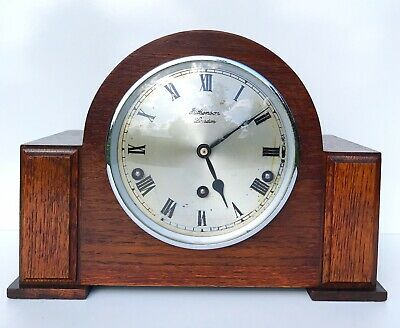 Garrard Art Deco westminster Chiming Mantle Clock