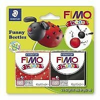 Kids Clay model set by FIMO beetles