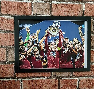 Liverpool FC Champions League Winners 2019 Poster Print football picture