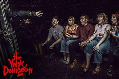 4 tickets York Dungeon valid until end of September 2019