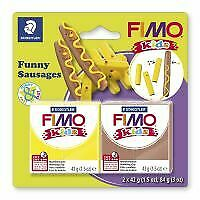 Kids Clay model set by FIMO sausages