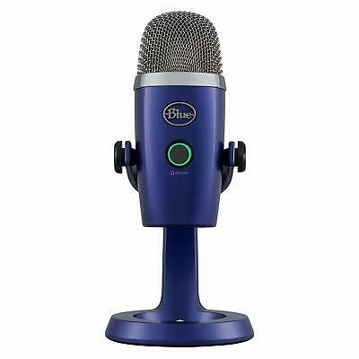Blue Yeti Nano Premium USB Microphone Recording Streaming Music Podcast Gaming