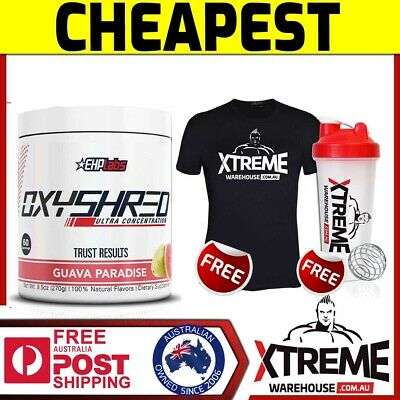 Oxyshred By Ehplabs 60 Serves Thermogenic Fat Metabolizer Weight Loss