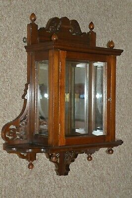 Antique Edwardian Wall Hanging Cabinet