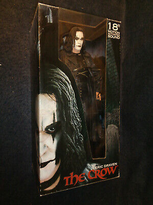 Action Figure Eric Draven 18 Inches 45 Cmm Ca The Crow Neca Reel Toys -R9- Fl